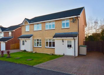Thumbnail 3 bed semi-detached house for sale in Limekiln Wynd, Mossblown, Ayr