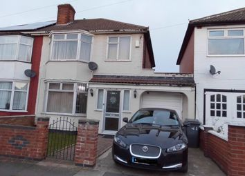 Thumbnail 3 bed semi-detached house for sale in Doncaster Road, Leicester