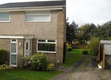Thumbnail 2 bed semi-detached house for sale in Heol Yr Wylan, Parc Gwernfadog, Morriston
