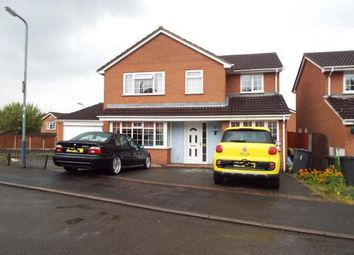 Thumbnail 4 bedroom detached house for sale in Hardy Close, Galley Common, Nuneaton, Warwickshire