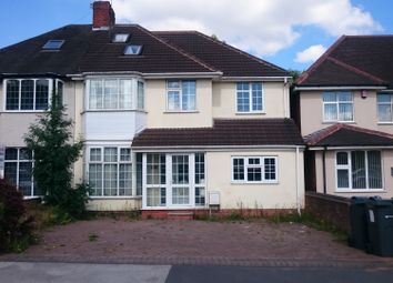 Thumbnail 6 bedroom semi-detached house to rent in Walsall Road, Great Barr