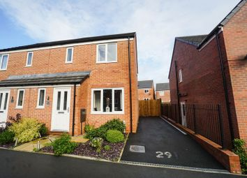 Thumbnail 3 bed semi-detached house for sale in Foxhunter Close, Lostock, Bolton