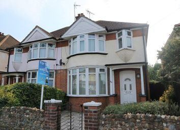 Thumbnail 3 bed semi-detached house for sale in Shaftesbury Avenue, Dovercourt, Harwich