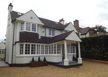 Thumbnail 6 bed detached house to rent in Aldenham Avenue, Radlett