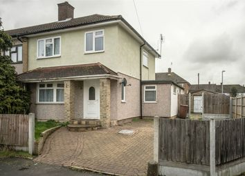 Thumbnail 3 bed end terrace house for sale in Cherwell Grove, South Ockendon, Essex