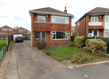 Thumbnail 3 bed detached house for sale in Ludford Crescent, Gainsborough