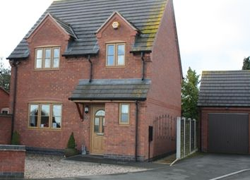 Thumbnail 3 bed detached house to rent in Preston Close, Kirkby Mallory