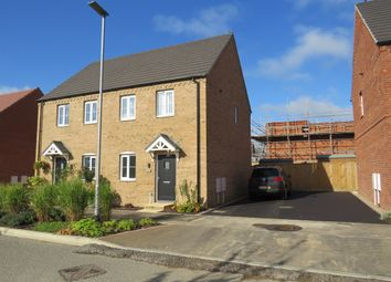 Thumbnail 2 bed semi-detached house for sale in Kendle Road, Swaffham