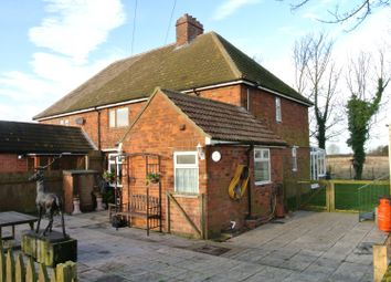 Thumbnail 3 bed semi-detached house for sale in Channel Road, Sunk Island, Hull