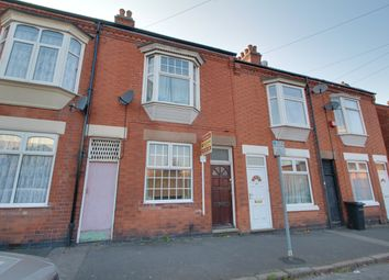 Thumbnail 2 bed terraced house for sale in Sandhurst Street, Oadby, Leicester