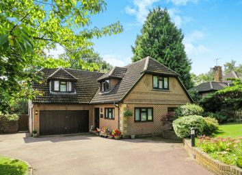 Thumbnail 4 bedroom detached house for sale in Herons Lea, Copthorne, Crawley
