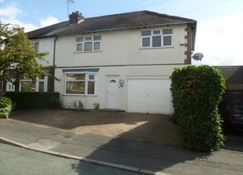 Thumbnail 3 bed property to rent in Oaklands Avenue, Littleover, Derby