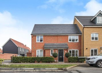 Thumbnail 3 bedroom end terrace house for sale in Summers Hill Drive, Papworth Everard, Cambridge