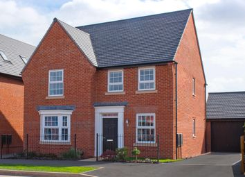 "Thumbnail 4 bed detached house for sale in ""Holden"" at Whites Lane, New Duston, Northampton"