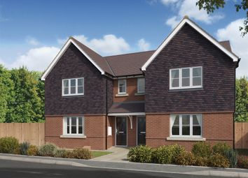 "Thumbnail 3 bed semi-detached house for sale in ""The Hatfield "" at Brookers Hill, Shinfield, Reading"