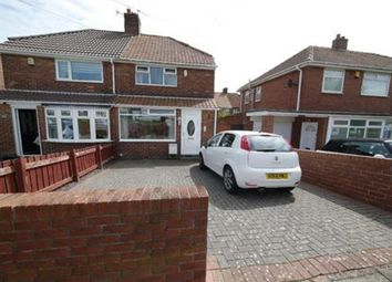 Thumbnail 2 bed semi-detached house for sale in Hotspur Road, Wallsend, Tyne And Wear