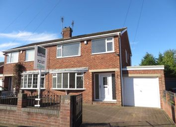Thumbnail 3 bed semi-detached house to rent in Kirkdale Road, York