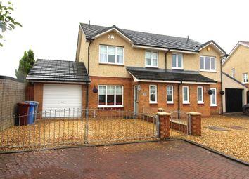 Thumbnail 3 bed semi-detached house for sale in 34, Pretoria Court, Lanark, South Lanarkshire