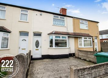 Thumbnail 2 bed terraced house to rent in Vale Avenue, Warrington