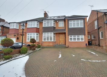 Thumbnail 4 bed semi-detached house for sale in Culgaith Gardens, Enfield