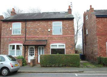 Thumbnail 3 bed semi-detached house for sale in Brien Avenue, Altrincham