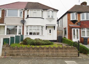 Thumbnail 3 bed semi-detached house to rent in Edgemond Avenue, Erdington, Birmingham