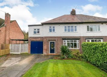 Thumbnail 5 bed semi-detached house for sale in Grange Crescent, Childer Thornton, Ellesmere Port, Cheshire