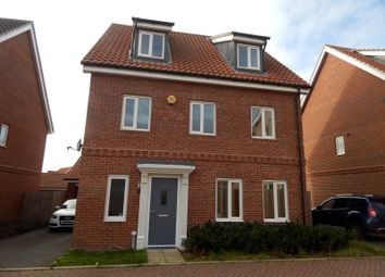 Thumbnail 4 bed detached house to rent in Tulip Gardens, Cringleford, Norwich