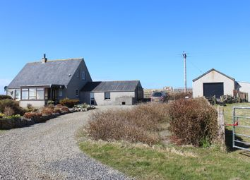 Thumbnail 4 bed detached house for sale in Aikerskaill Road, Deerness, Orkney
