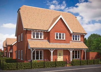 "Thumbnail 4 bed property for sale in ""The Welwyn"" at Blunsdon, Swindon"