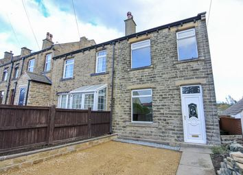 Thumbnail 2 bed end terrace house to rent in Hallas Road, Kirkburton, Huddersfield