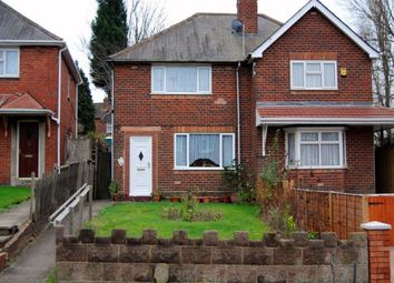 Thumbnail 3 bedroom semi-detached house to rent in Canterbury Road, West Bromwich, West Midlands