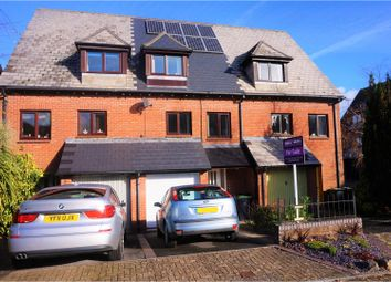 Thumbnail 4 bed town house for sale in Earl Close, Dorchester