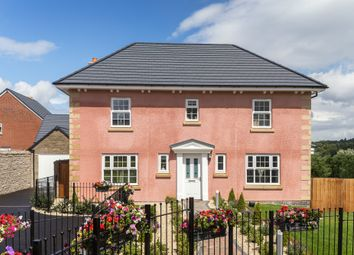 "Thumbnail 4 bed detached house for sale in ""Oakhampton"" at Bevans Lane, Pontrhydyrun, Cwmbran"