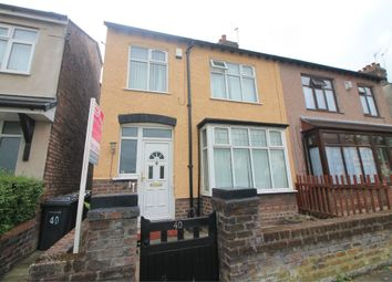 Thumbnail 3 bed semi-detached house for sale in Myers Road East, Crosby, Merseyside