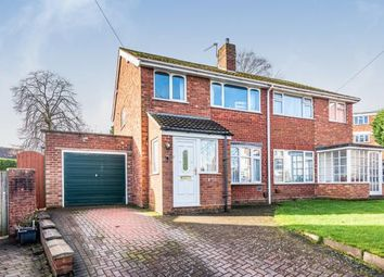 3 bed semi-detached house for sale in Lime Grove, Off Burton Old Road West, Lichfield, Staffordshire WS13