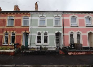 Thumbnail 3 bed terraced house for sale in Burnaby Street, Splott, Cardiff