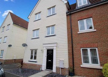 Thumbnail 4 bedroom town house for sale in Meadow Crescent, Purdis Farm, Ipswich