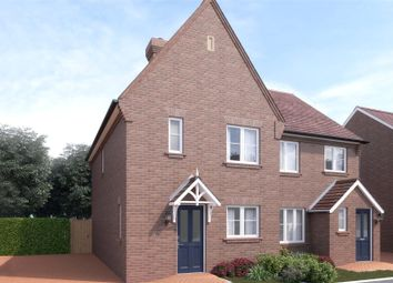 Thumbnail 3 bed semi-detached house for sale in Hawthorn Park, Swanley, Kent