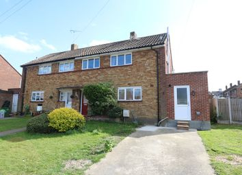Thumbnail 3 bed semi-detached house for sale in Windsor Gardens, Hadleigh, Benfleet