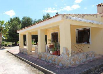 Thumbnail 4 bed villa for sale in Spain, Valencia, Alicante, Monóvar