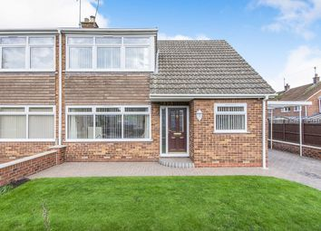 Thumbnail 3 bed semi-detached house for sale in The Crossings, Airmyn, Goole