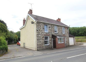 Thumbnail 4 bed detached house for sale in Pentrecwrt Road, Llandysul, Carmarthenshire
