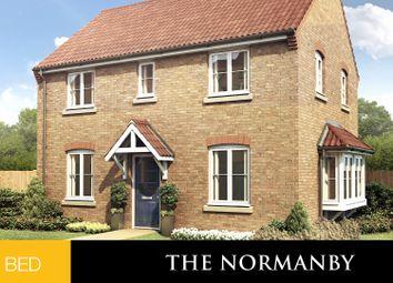 Thumbnail 3 bed detached house for sale in Deepdale Lane, Nettleham