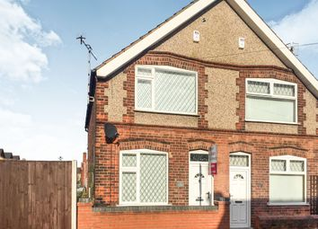 Thumbnail 2 bedroom semi-detached house for sale in Trowell Avenue, Ilkeston