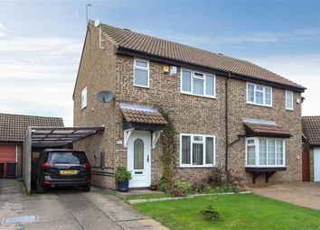 Thumbnail 3 bed semi-detached house for sale in Gemini Close, Leighton Buzzard
