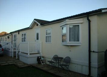 Thumbnail 2 bedroom mobile/park home for sale in Manor Park, Grange Road, Uphill, Weston-Super-Mare
