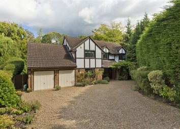 Thumbnail 5 bed detached house for sale in Beech Close, Cobham, Surrey