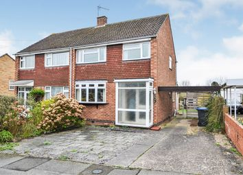 Thumbnail 3 bed semi-detached house for sale in Gilbert Avenue, Bilton, Rugby