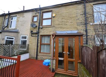 Thumbnail 2 bed terraced house for sale in Wellington Street, Queensbury, Bradford